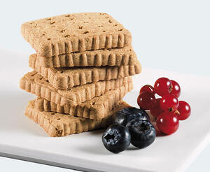 pronokal biscuits and fruit